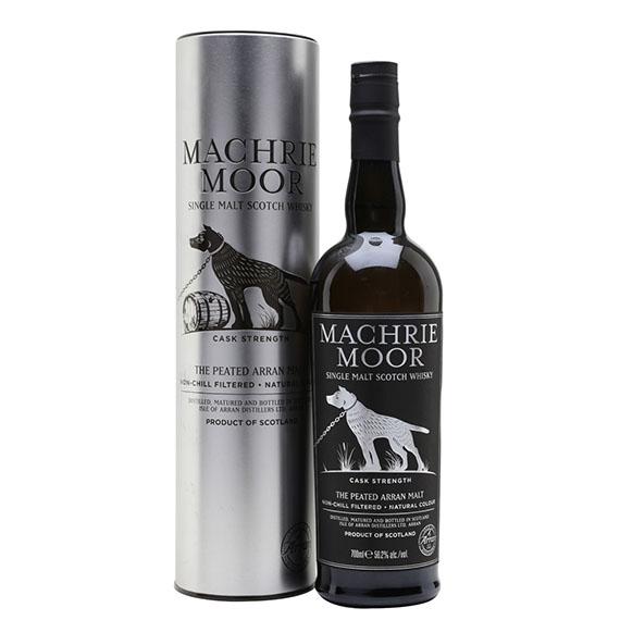 Arran Machrie Moor - Peated Skót Whisky 0,7l 56,2%