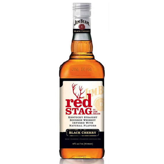 Jim Beam Kentucky Straight Bourbon Whiskey Red Stag 1l
