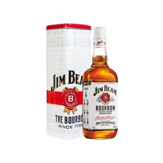 Jim Beam 0,7L + Fém DD