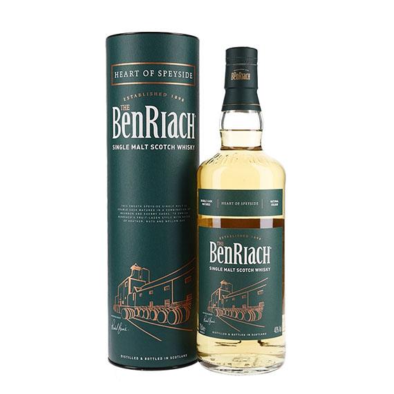 Benriach Heart of Speyside Skót Whisky 0,7l 40%