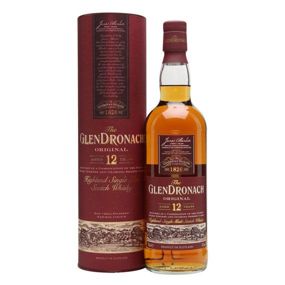 Glendronach 12 éves 0,7l 43% prémium DD