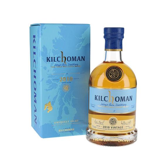 Kilchoman 9 Éves 2010 Vintage Single Malt Skót Whisky 0,7l 48%