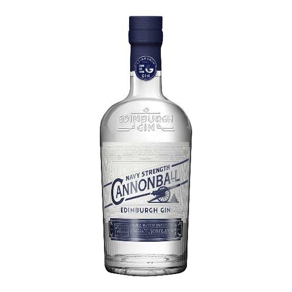 Edinburgh Cannonball Navy Strengt 0,7l 57,2%