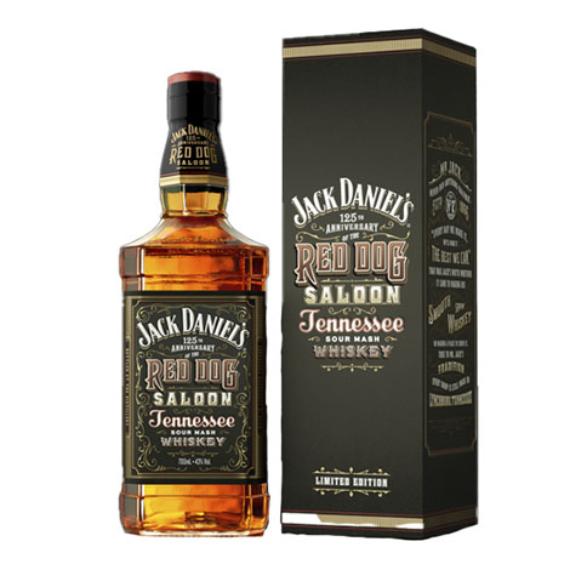 Jack Daniel's Tennessee whiskey Red Dog Saloon Díszdobozban 0,7l 43%