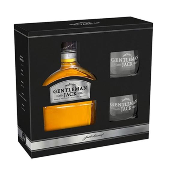 Jack Daniels Gentleman Jack 0,7l 40% + 2 pohár DD
