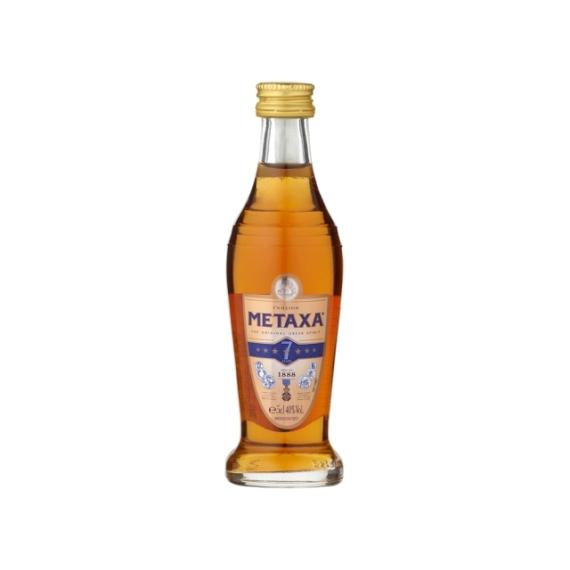 Metaxa 7* 0,05l mini 40%
