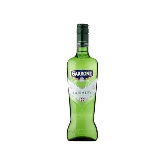 Garrone Extra Dry Vermut extra száraz ízesített bor 0,75l 18%
