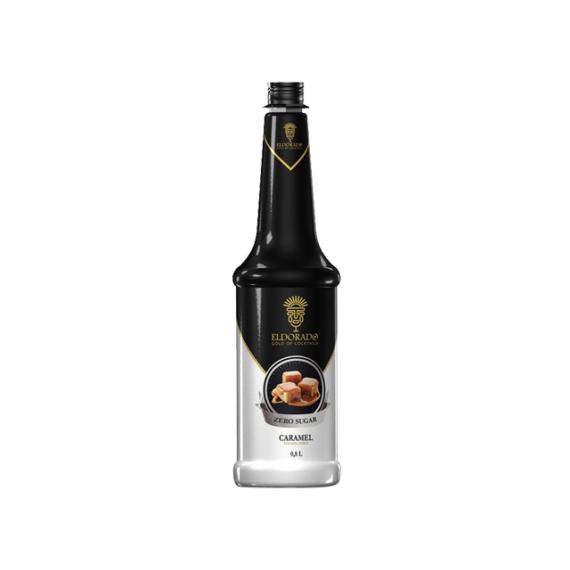 Eldorado Zero cukor Karamell szirup 0,8l