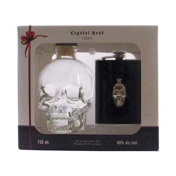 Crystal Head vodka 0,7l 40% +flaska DD