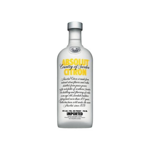Absolut Citron vodka 0,7l 40%