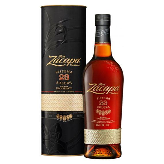 Ron Zacapa Solera Reserve 23 éves rum díszdobozban 0,7l