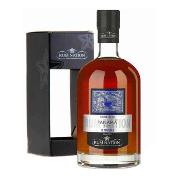 Rum Nation Panama 18 Éves 0,7l 40%