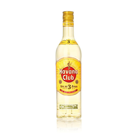 Fehér rum Havana Club 3 Mojito & Daiquiri Koktélhoz 0,7l 40%]
