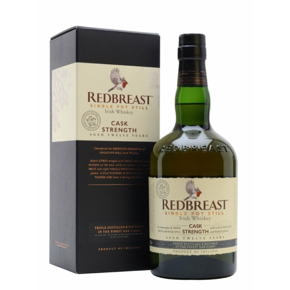 Redbreast 12 Éves Cask Strength Whiskey 0,7l 57,6%