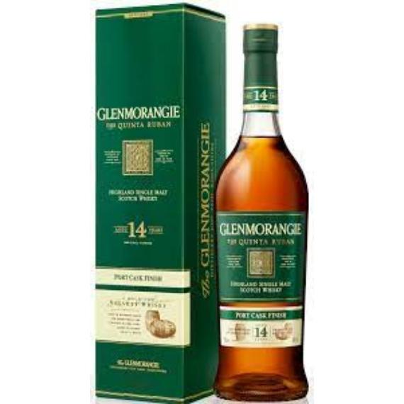 Glenmorangie 14 éves The Quinta Ruban 0,7l 46%