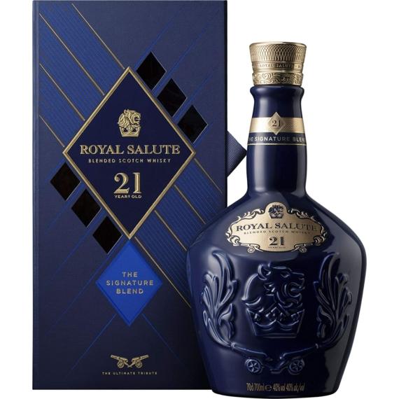Chivas Royal Salute 21 éves Blended Skót Whisky 0,7l