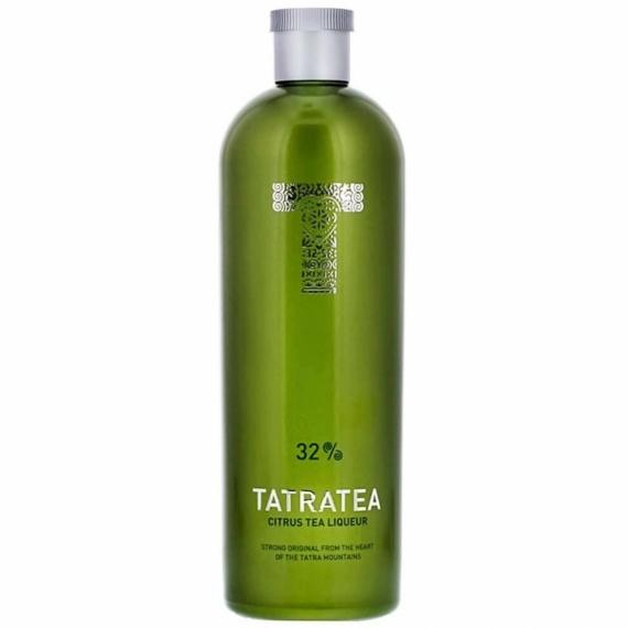 Tatratea (zöld) Citrus likőr 0,7l 32%