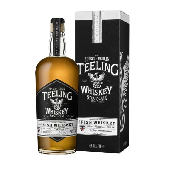 Teeling Stout Cask Finish Whiskey Díszdobozban 0,7l 46%