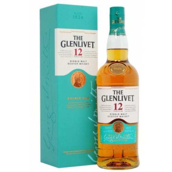 The Glenlivet 12 Éves Double Oak Speyside Single Malt Skót Whisky 0,7l 40%