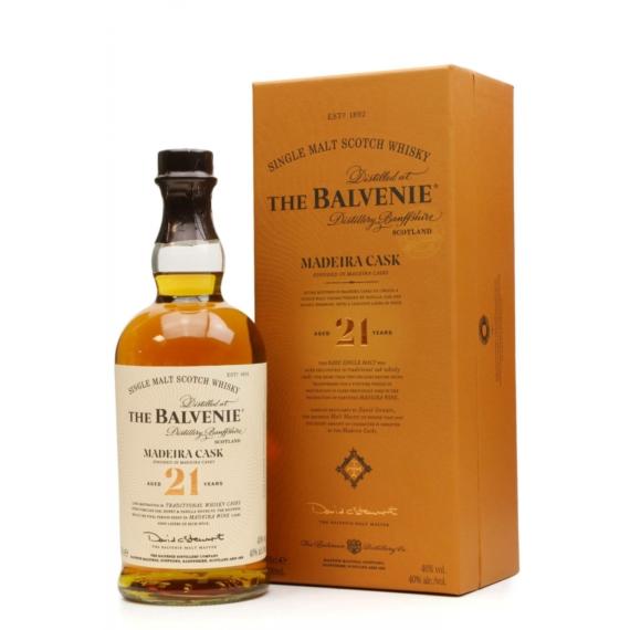 Balvenie 21 éves Madeira Cask Skót Whisky 0,7l 40%