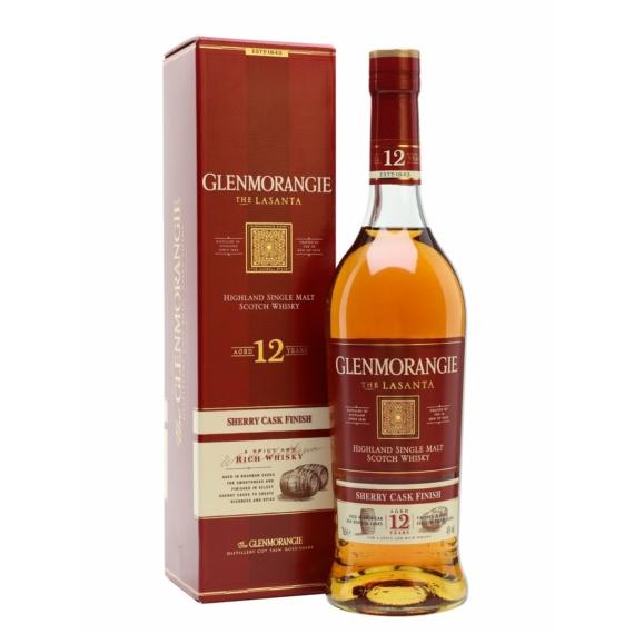 Glenmorangie Lasanta 12 éves 0,7l 43% Scotch whisky