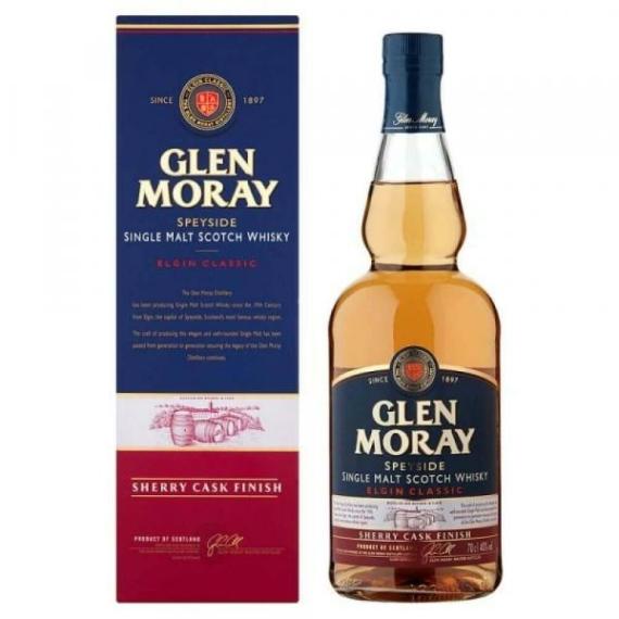 Glen Moray Sherry Cask Finish Skót Whisky 40% 0,7l