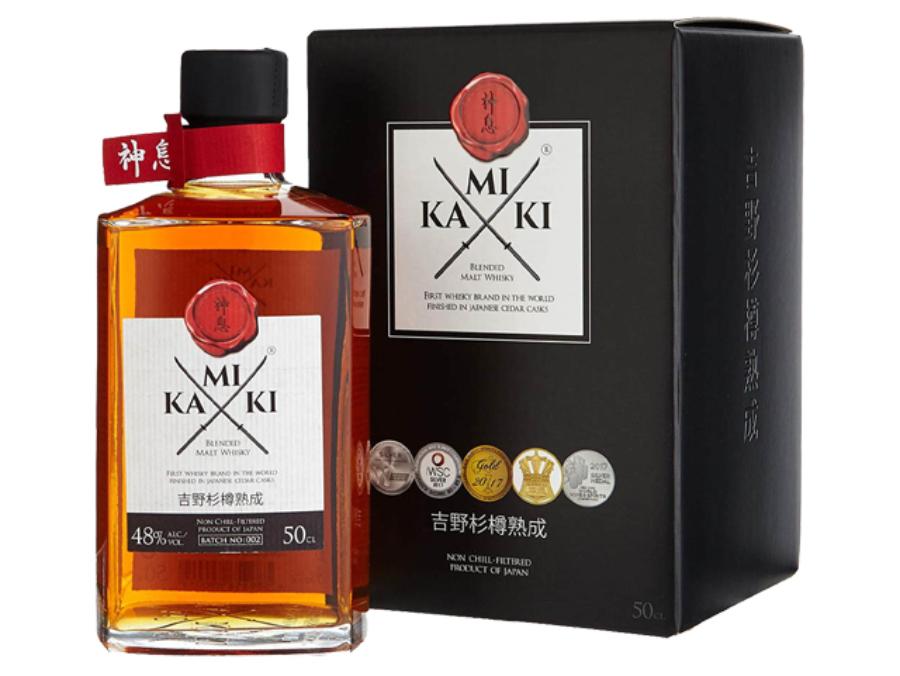 Kamiki Blended Malt whisky 0,5l 48%