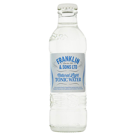 Franklin & Sons Natural Light Indian Tonic Water 0,2l